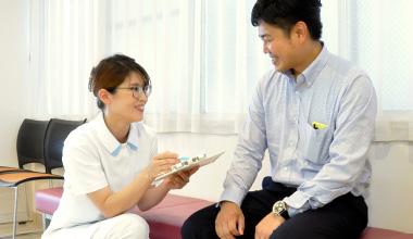 米倉耳鼻咽喉科 問診の写真