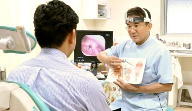 米倉耳鼻咽喉科 診断・説明の写真