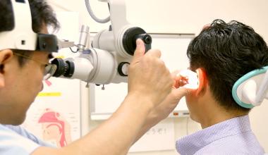 米倉耳鼻咽喉科 治療の写真